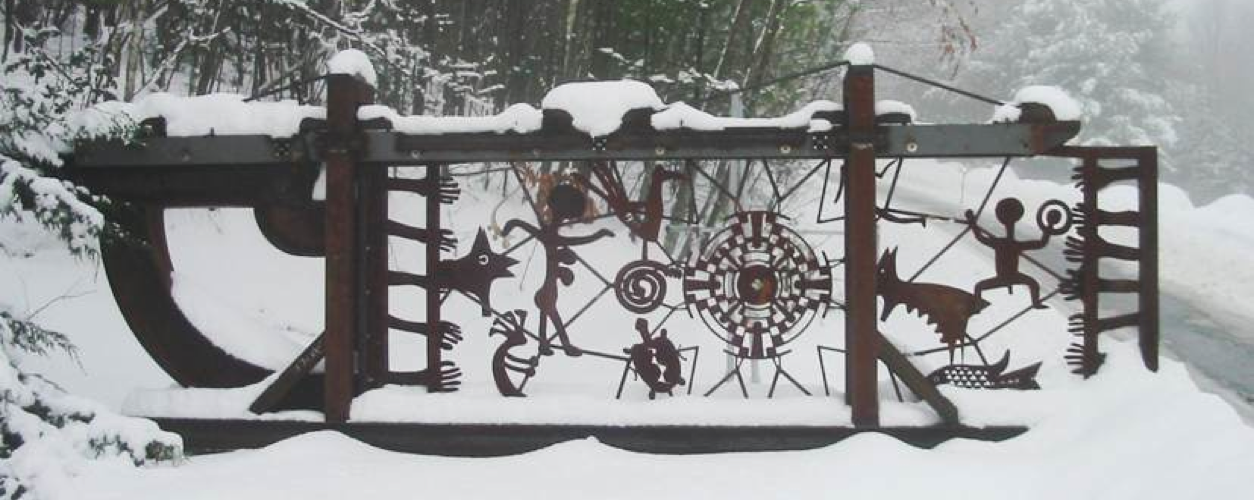 A4 Entrance Gate (Dreamcatcher) - John M. Weidman, New Hampshire, USA
